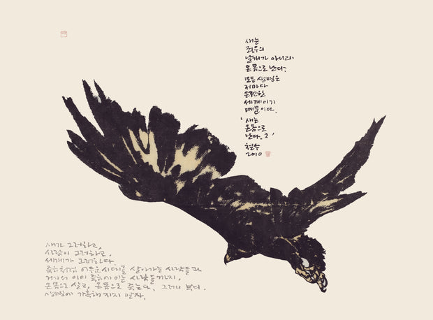 Bird Flies With the Whole Body 2 새는 온몸으로 난다 by Chul Soo Lee - Davidson Galleries