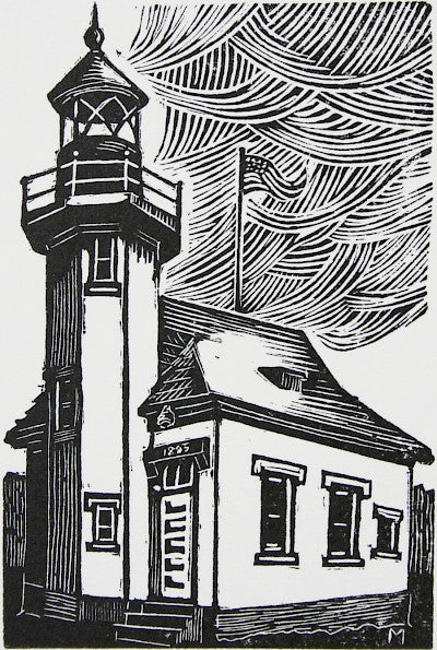 Lighthouse by Carl V. Montford - Davidson Galleries