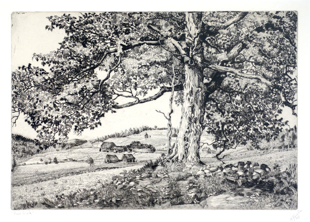 Red Oak, Vermont by Walter Ronald Locke - Davidson Galleries