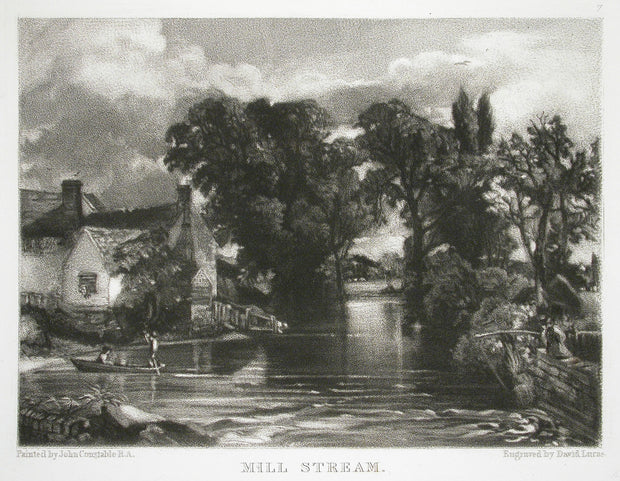 Mill Stream by David Lucas - Davidson Galleries