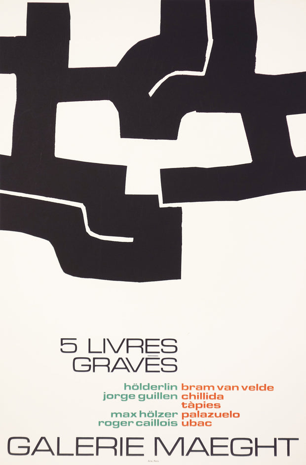 5 Livres Gravés (Five Engraved Books) by Galerie Maeght - Davidson Galleries
