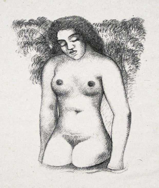 "Plate 8 from ""Belle Chair"" by Aristide Maillol - Davidson Galleries"