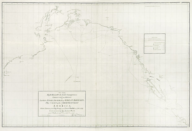 Dixon Expedition - Chart of the Northwest Coast of America by Maps, Views, and Charts - Davidson Galleries