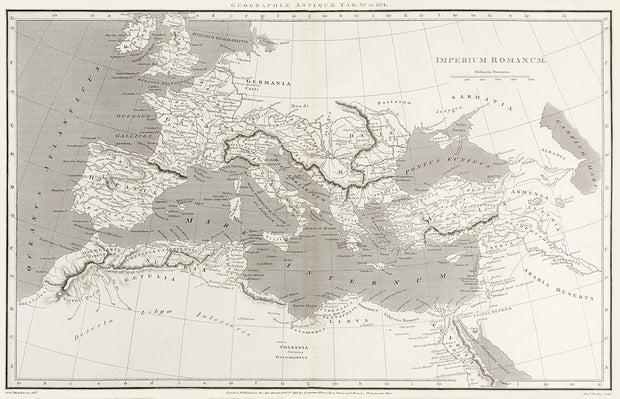 Imperium Romanum by Maps, Views, and Charts - Davidson Galleries
