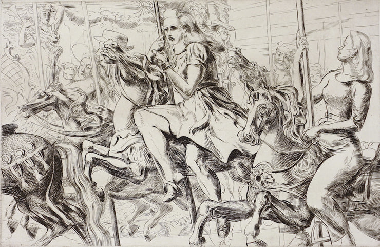 Merry-Go-Round by Reginald Marsh - Davidson Galleries