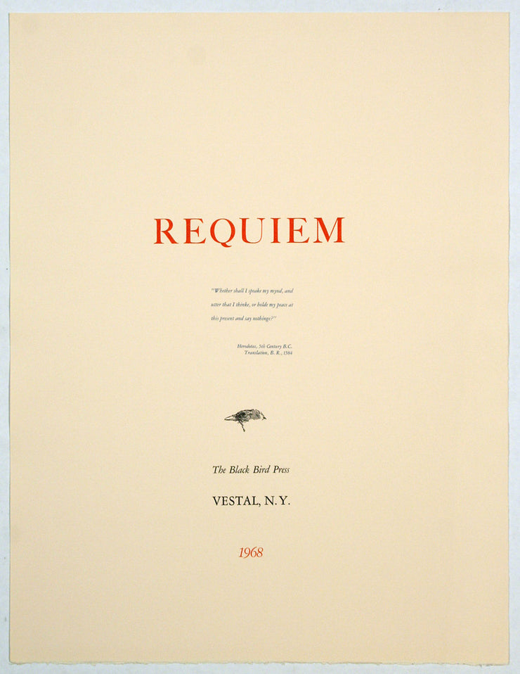 Requiem by Robert Marx - Davidson Galleries