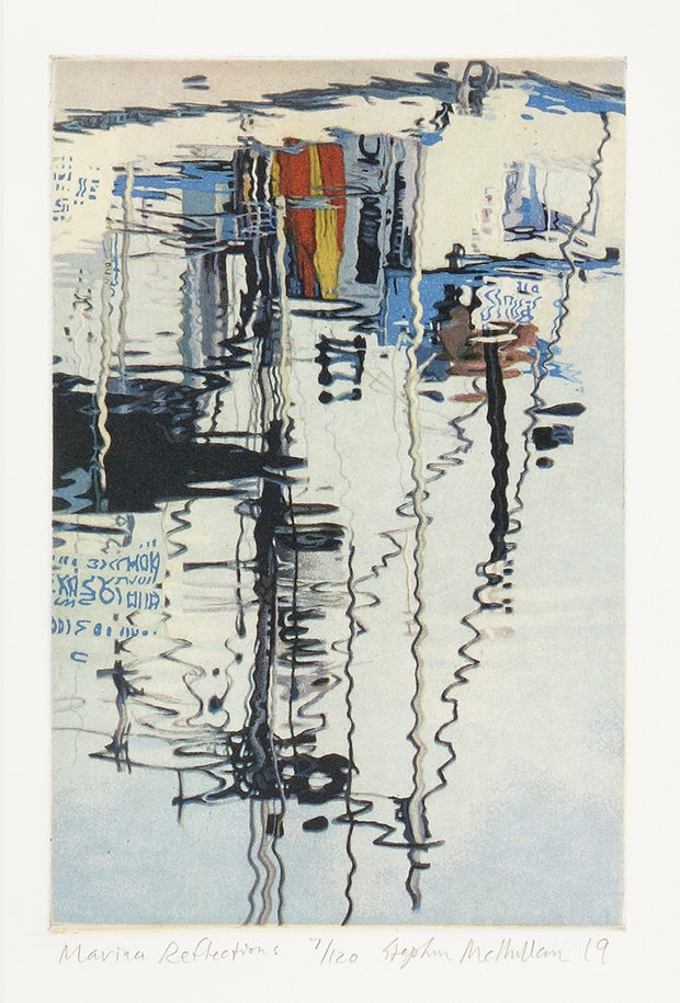 Marina Reflections by Stephen McMillan - Davidson Galleries