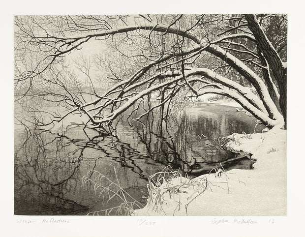 Winter Reflections by Stephen McMillan - Davidson Galleries