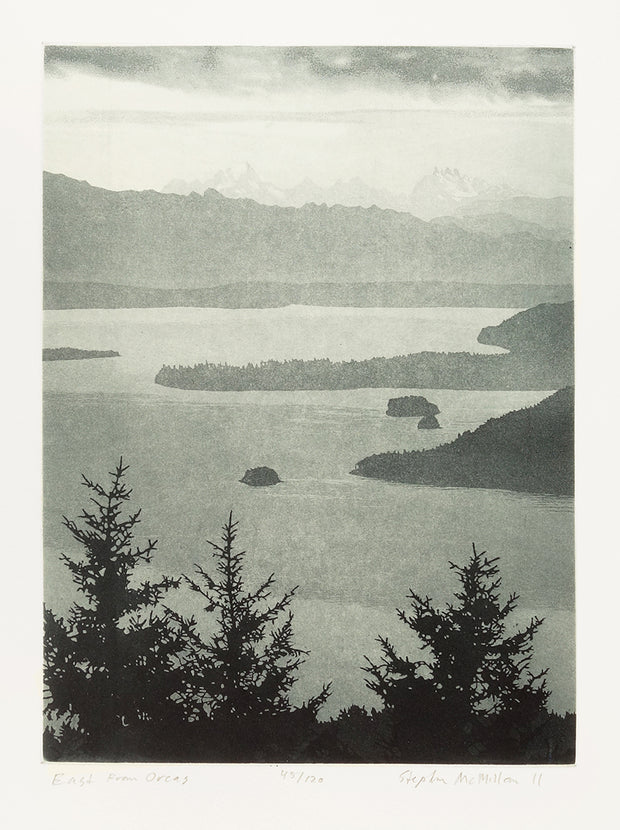 East from Orcas by Stephen McMillan - Davidson Galleries