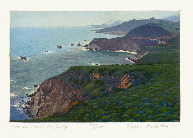Pacific Coast Highway by Stephen McMillan - Davidson Galleries