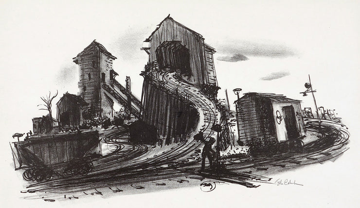 Coal Yard by John C. Menihan - Davidson Galleries