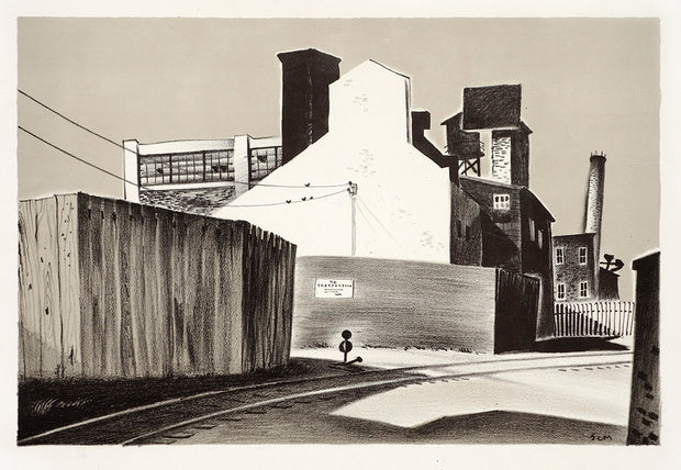 Factory (No Trespassing) by John C. Menihan - Davidson Galleries