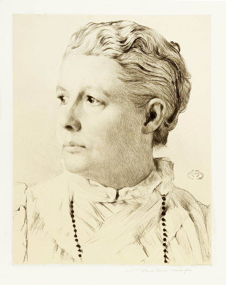 Mrs. Annie Besant by Mortimer Luddington Menpes - Davidson Galleries