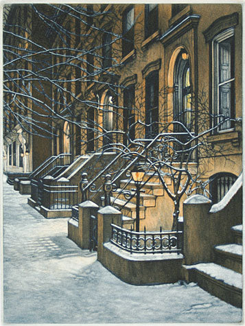 Night Lights by Frederick Mershimer - Davidson Galleries