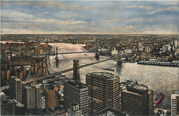 Three Bridges by Frederick Mershimer - Davidson Galleries