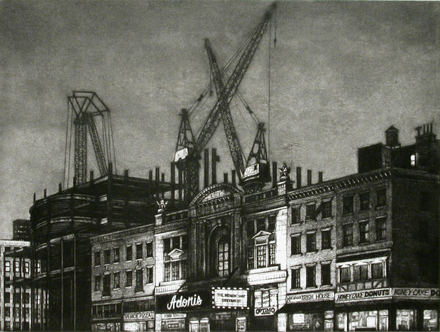Rebuilding 8th Avenue by Frederick Mershimer - Davidson Galleries