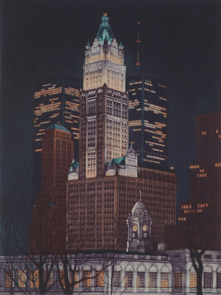 Woolworth Building by Frederick Mershimer - Davidson Galleries