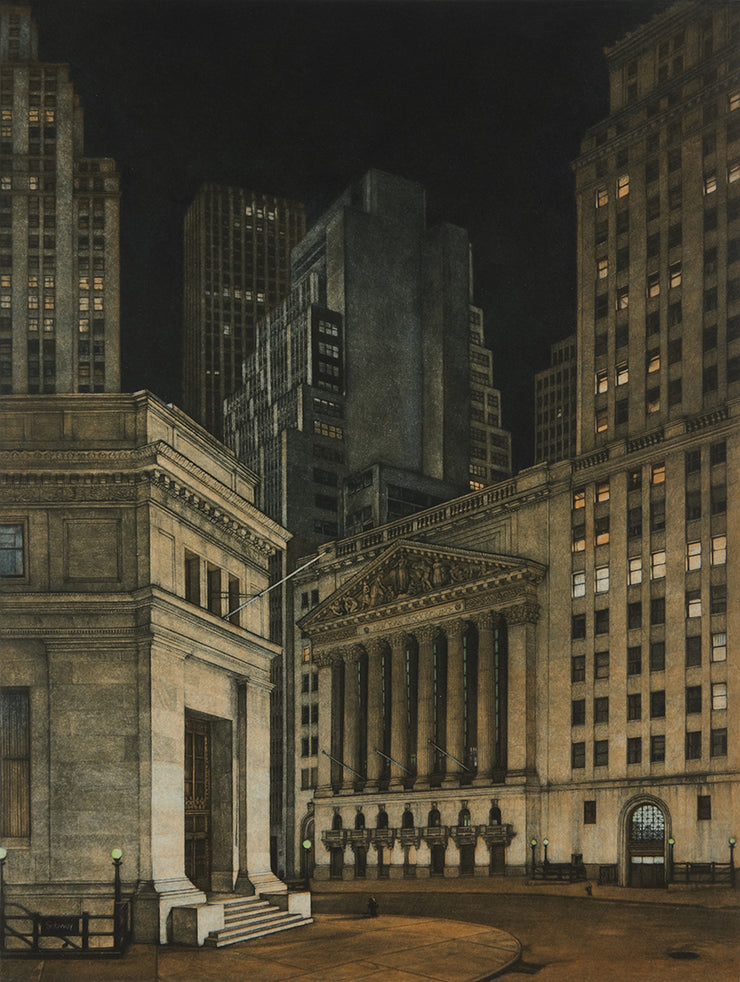 New York Stock Exchange by Frederick Mershimer - Davidson Galleries