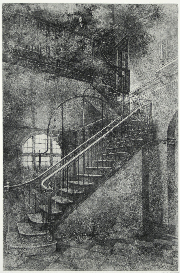 The Jolly Corner Suite (Portfolio of 21 etchings) by Peter Milton - Davidson Galleries
