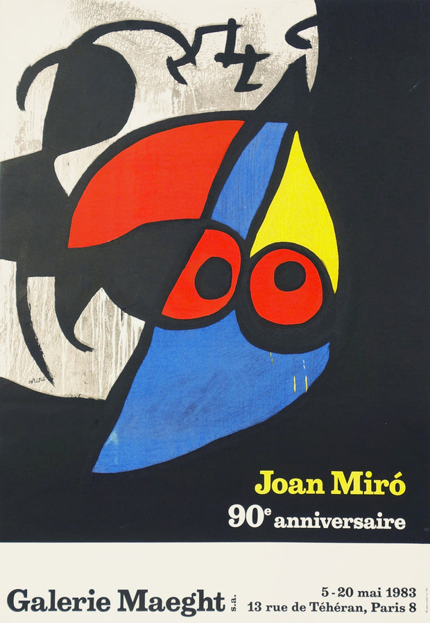 Joan Miró, 90e Anniversaire Poster by Joan Miró - Davidson Galleries