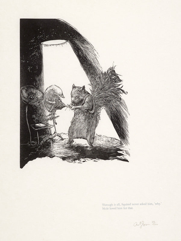 Mole and Squirrel by Andy Farkas - Davidson Galleries
