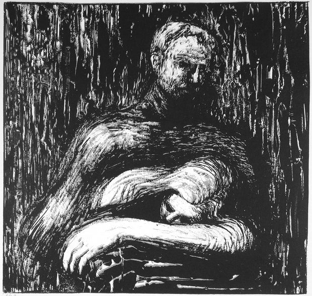 Lullaby, from Auden Poems by Henry Moore - Davidson Galleries