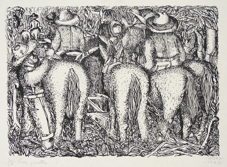 Los Jinetes by Francisco Mora - Davidson Galleries