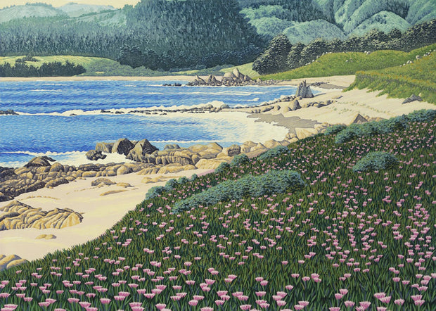 Carmel Meadows Beach by Gordon Mortensen - Davidson Galleries