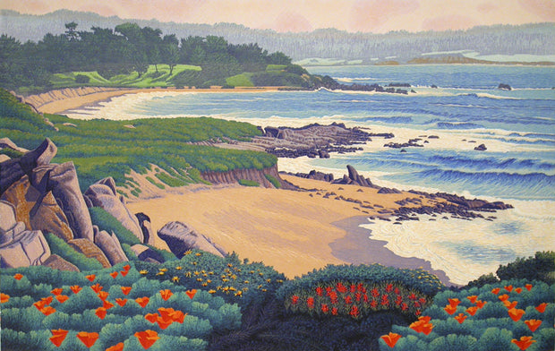 Carmel River State Beach by Gordon Mortensen - Davidson Galleries