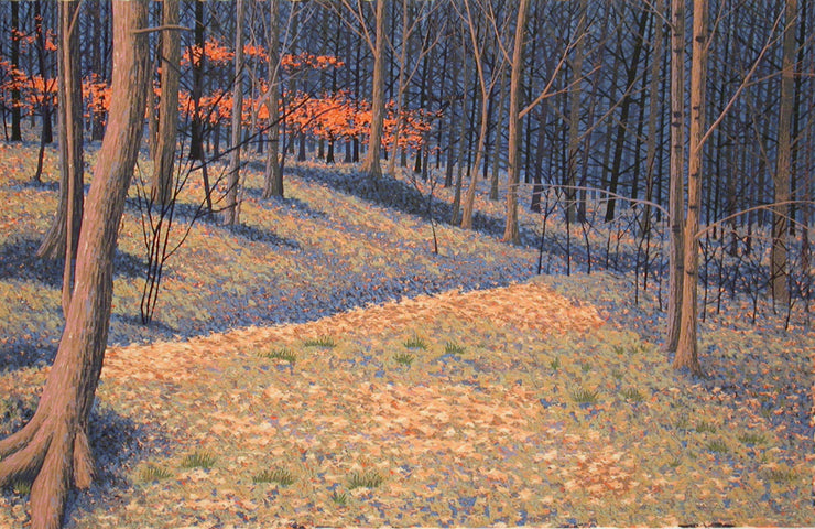 December, Frick Park by Gordon Mortensen - Davidson Galleries