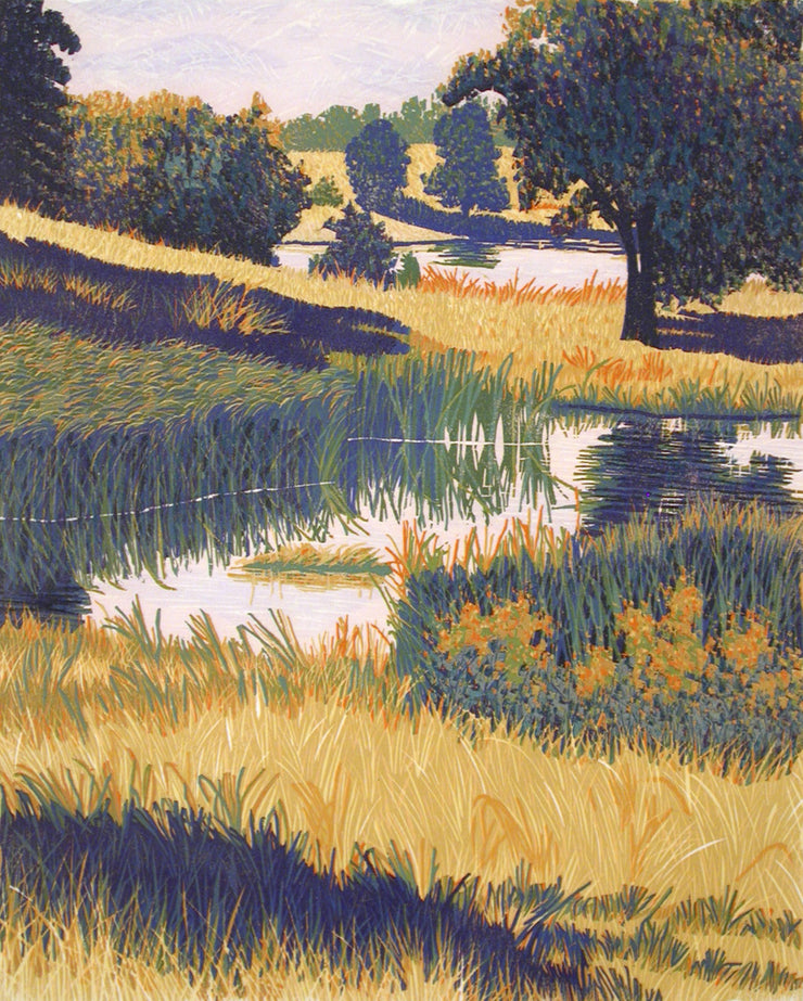 Reid Pond by Gordon Mortensen - Davidson Galleries