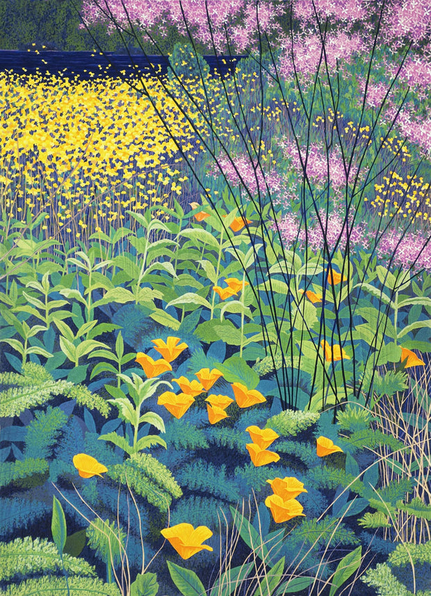 Seaside Wildflowers by Gordon Mortensen - Davidson Galleries