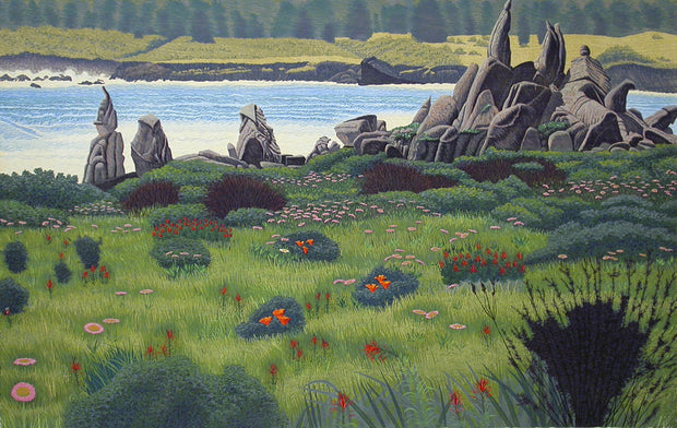 Spring at Carmel Meadows by Gordon Mortensen - Davidson Galleries