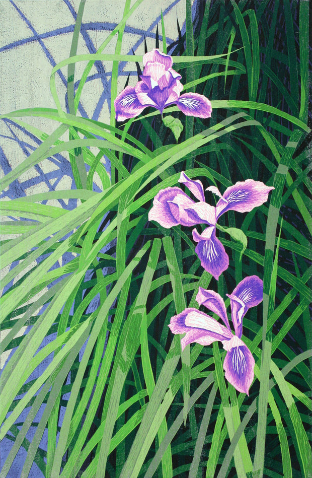Wild Iris by Gordon Mortensen - Davidson Galleries