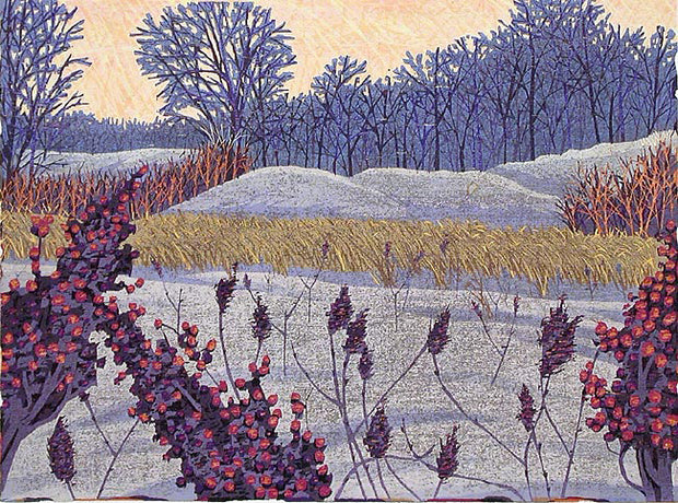 Winter Sumac by Gordon Mortensen - Davidson Galleries