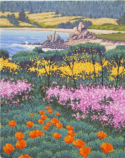 April, Carmel Meadows by Gordon Mortensen - Davidson Galleries