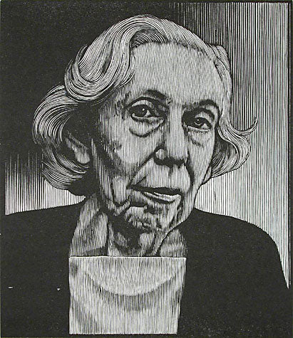 Eudora Welty by Barry Moser - Davidson Galleries