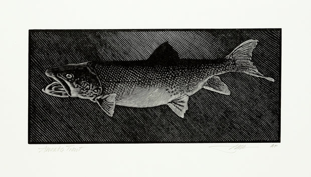 Ausable Trout by Barry Moser - Davidson Galleries