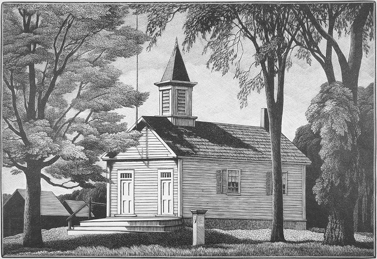 District Schoolhouse by Thomas Nason - Davidson Galleries