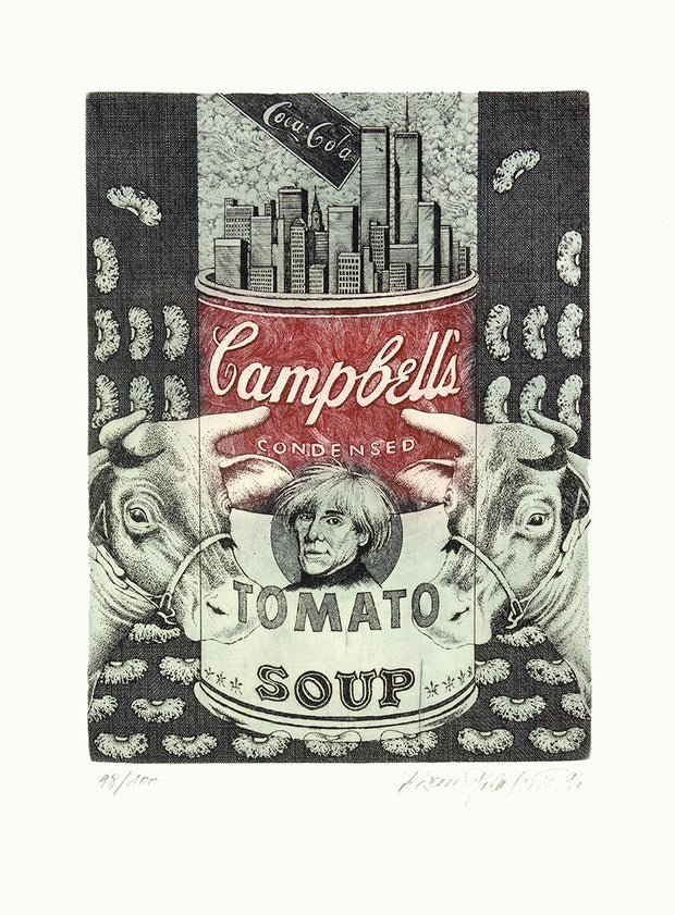 A Tribute to Andy Warhol (Suite of 10 prints) by Multiple Artists - Davidson Galleries