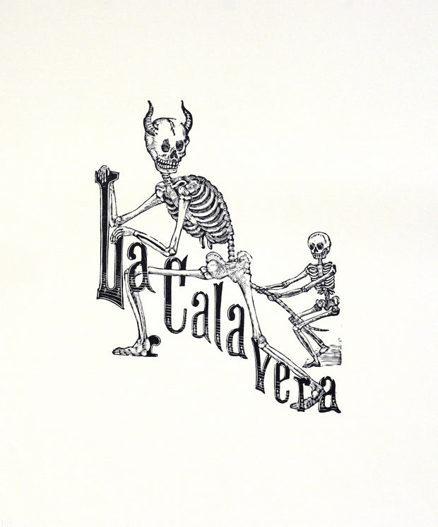 La Calavera Infernal (Alt. title: El Calavera Taurina) by Manuel Manilla - Davidson Galleries