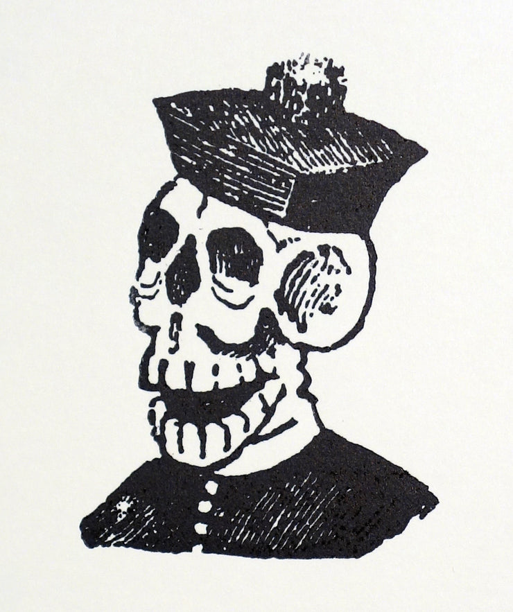 Calavera Monseñor by José Guadalupe Posada - Davidson Galleries