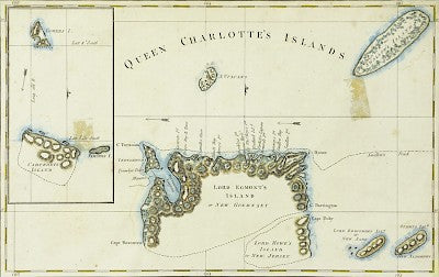 Queen Charlotte's Island by Maps, Views, and Charts - Davidson Galleries