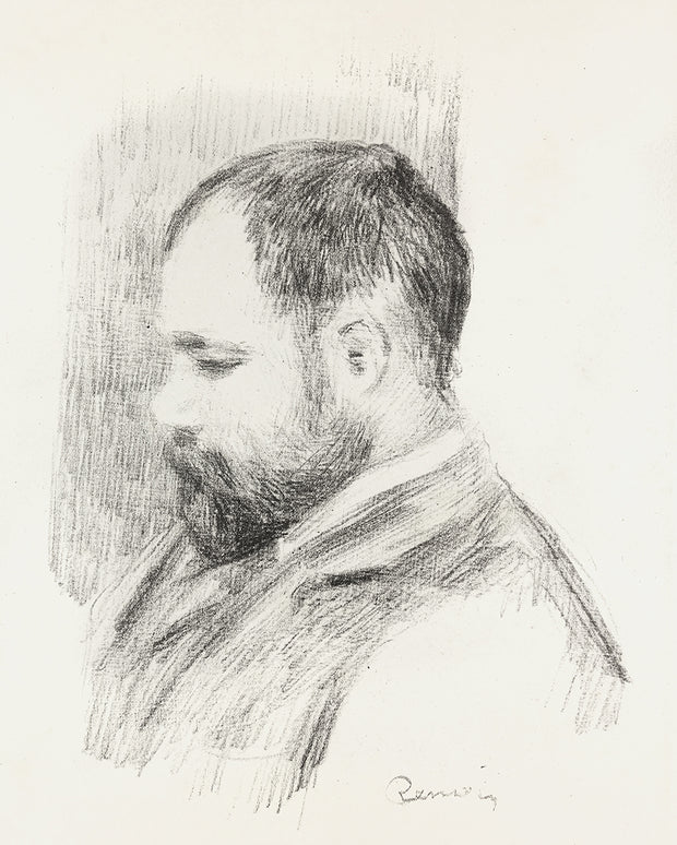 Ambroise Vollard by Pierre-Auguste Renoir - Davidson Galleries
