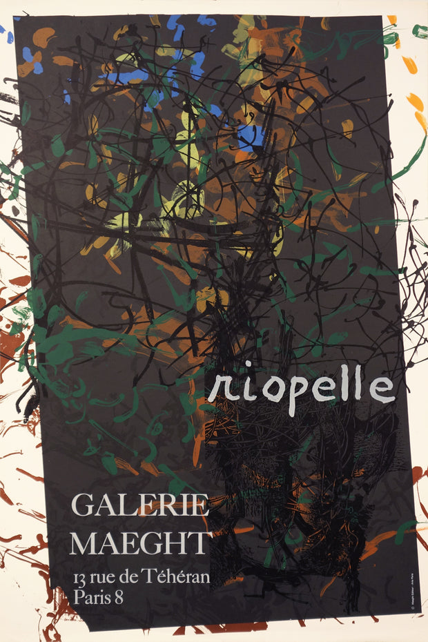 Galerie Maeght Exhibition Poster by Jean Paul Riopelle - Davidson Galleries