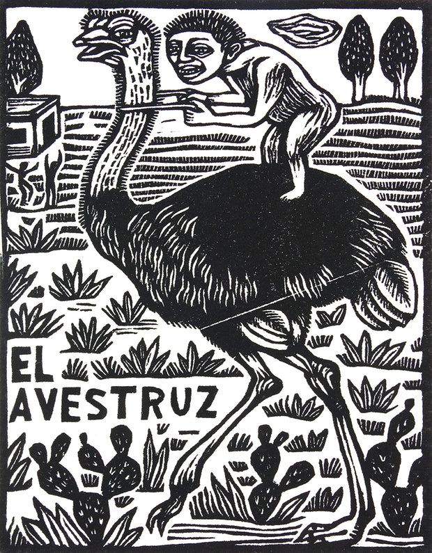 El Avestruz (The Ostrich) by Artemio Rodriguez - Davidson Galleries