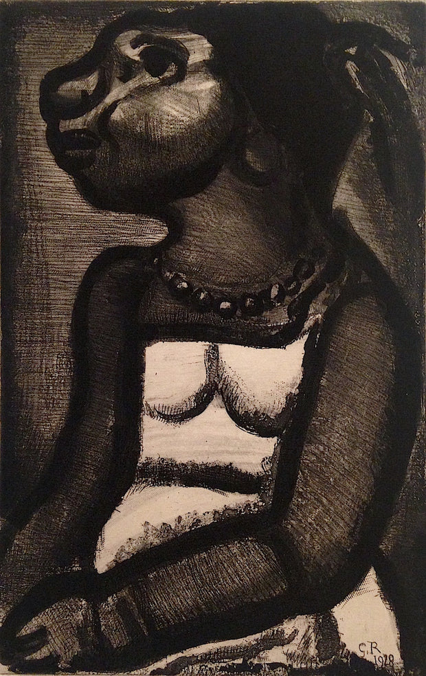 Negresse en profil by Georges Rouault - Davidson Galleries