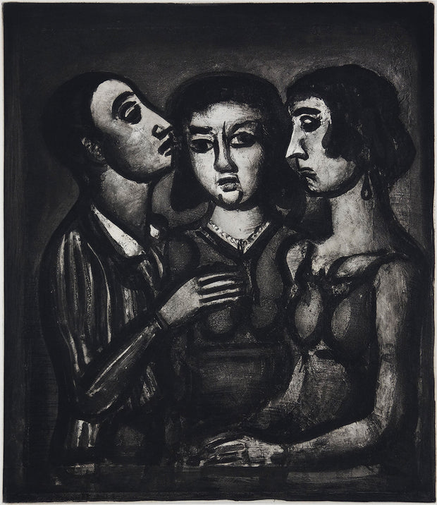 Plate 41. Augures... (Omens...) by Georges Rouault - Davidson Galleries