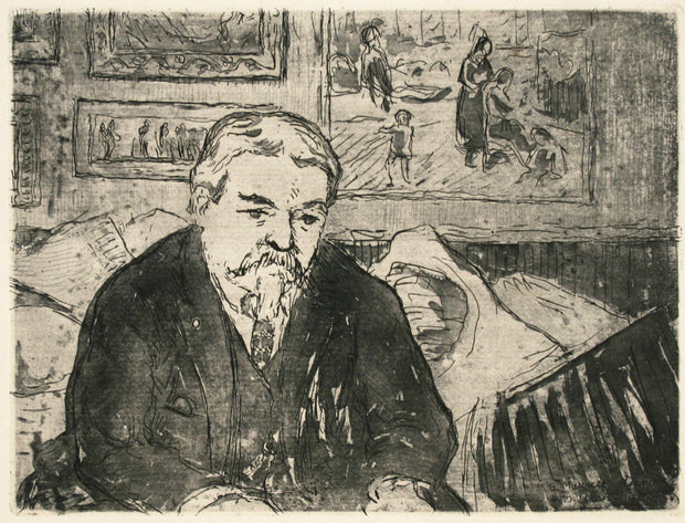 Portrait of Maurice Denis by Joseph-Victor Roux-Champion - Davidson Galleries
