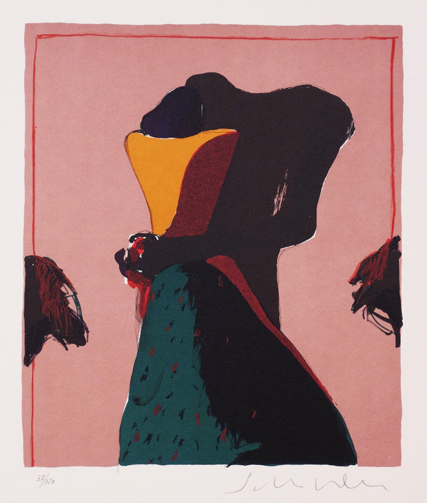 Embrace by Fritz Scholder - Davidson Galleries
